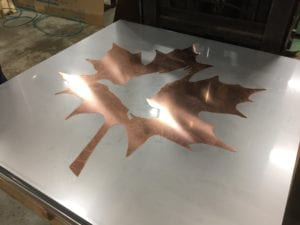 Metal Inlays - Waterjet Cutting Services at JIT Companies